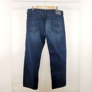 LEVI'S 505 Regular Fit Straight Leg Jeans 36x30
